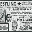 Old wrestling ticket